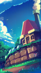 Gamescapes: Link to the Past by RobDuenas