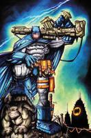 Commission: Dark Knight Returns Copics by RobDuenas