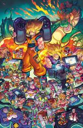 DragonBall Gaming Tribute by RobDuenas