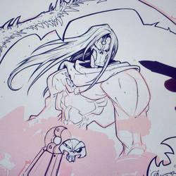 Darksiders Death WIP 05 by RobDuenas