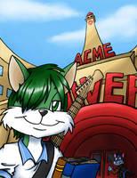 Selfie at Acme Looniversity by rakumel
