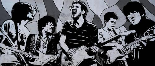 Guitar Gods by harrycarmona