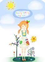Happy Birthday Love by i-says-hi