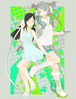 Katrina and Aliza: Love by pinkx2