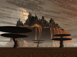 Alien Trees by nick-f