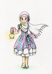 Maryam had a Little Lamp by moonhmz