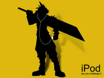 Cloud iPod by xxsilverrainexx