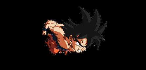 Goku Render by ItachiUchihaHD