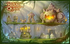 Statues for Royal Quest by mmx-v