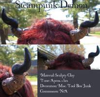 Steampunk Demon by Ohiochan