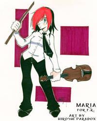 Maria for f.k. by hiroshiparadox