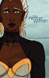 Marvel goes to hollywood: Storm by Guolfo
