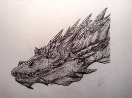 Smaug the Terrible by LennoxFM