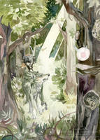 Faron Woods by ZulayaWolf