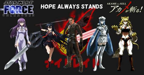 Hope Always Stands - Galen Marek's Harem by SinraiPaleodemon1