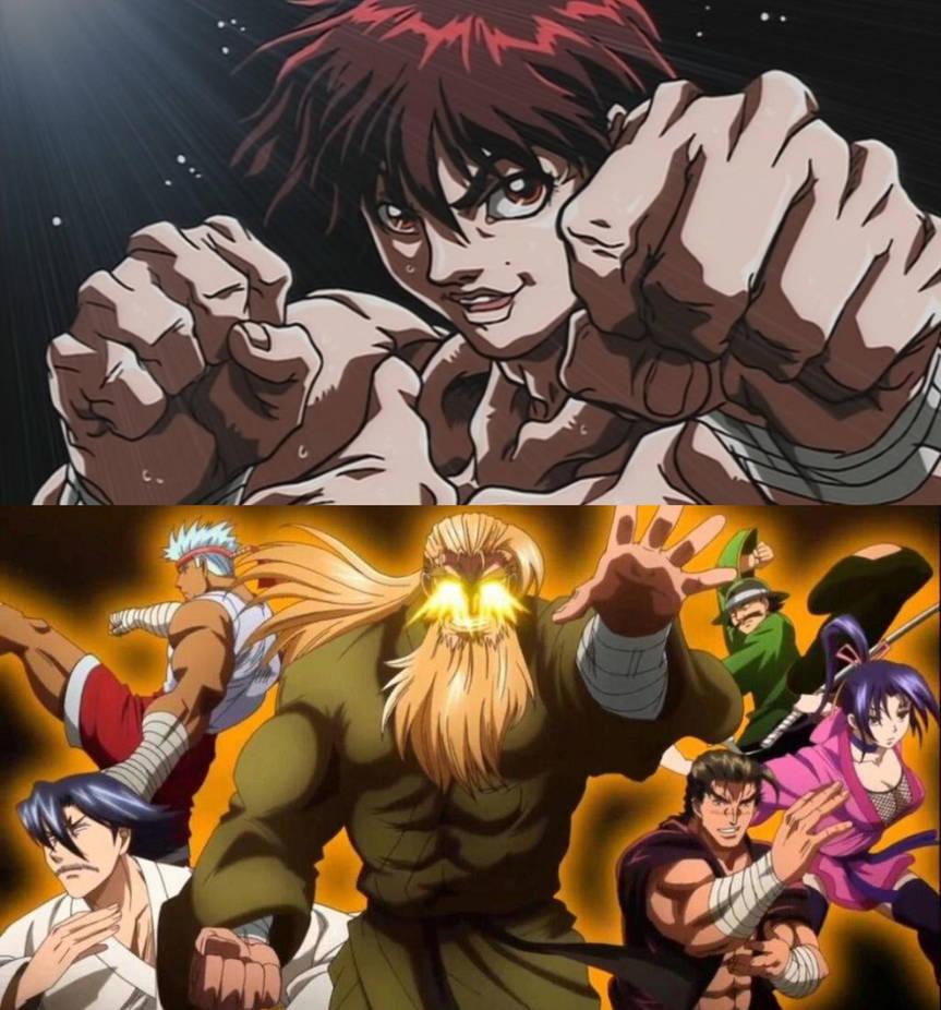 Manga Anime Baki 2018: Baki The Grappler Art T Anime Manga And Fan Art