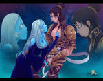 Commission - Bonds Through Melancholy by SinraiPaleodemon1
