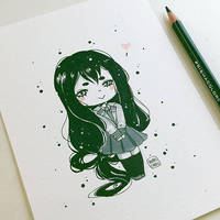 Tsuyu-chan! by Rabiscario