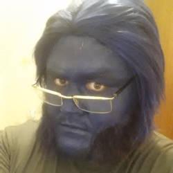 Beast Makeup test by sjbonnar
