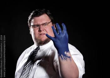 Dr. Hank McCoy Transforming by sjbonnar