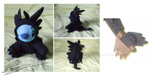 HTTYD - Stitch as Toothless by LiChiba