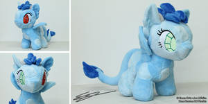 Dren ~ Custom Dragon Pony OC MLP Plushie by LiChiba