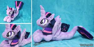 Twilight Sparkle Seapony Plushie by LiChiba