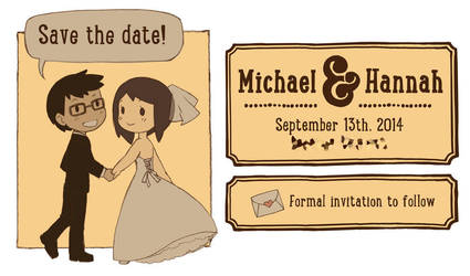 Our Save the Date by ahnline