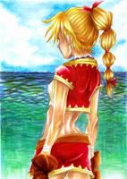 Star Stealing Girl by elleinead