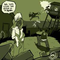 Left 4 Dead: Doodle 01 by karniz