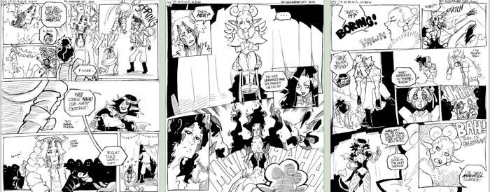 3 Pillars: Halloween Comic pt2 by karniz