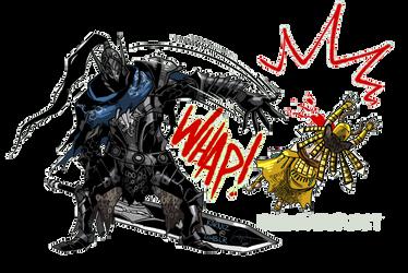 Dark Souls: Artorias Pimp Slap by karniz