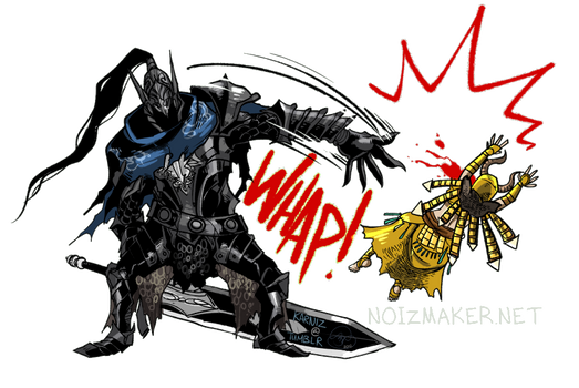 Dark Souls: Artorias Pimp Slap by karniz