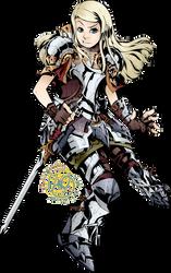 Commission: Etrian Odyssey Protector Avelyn by karniz