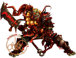 Commission: Gargaron by karniz