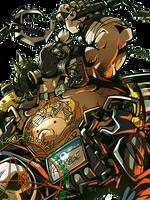 Overwatch: Roadhog by karniz