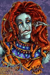 Commission - World of Warcraft: Naeemah by karniz