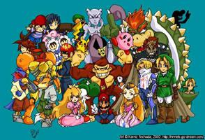 Super Smash Bros Melee FLASH by karniz