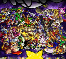 Super Smash Bros. Melee by karniz