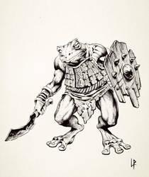 Bullywug bandit by Savedra