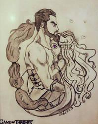 Daenerys and Drogo  by fotstef