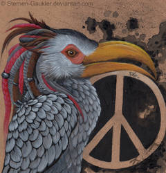 Rasta Peace by Sternen-Gaukler