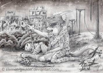 Timberwolf and Namikaze by Sternen-Gaukler