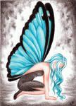 #74 Blue Morpho by Celestial91