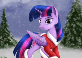Twilight Xmas by Pony-Stark