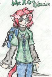 Neko-chan: artist and author by konekouramehsi