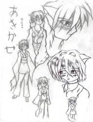 Akikaze Yui by konekouramehsi