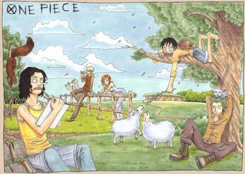 One Piece - Sunny Day by Arcirithwen