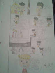 Hello Neighbor Comic 'Herzschmerz' pt. 1 by animelover2233