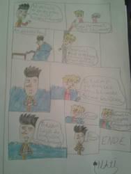 Hello Neighbor Comic 'Herzschmerz' pt. 3 by animelover2233